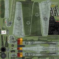 Asisbiz IL2 EM Ta 152H1 JG301 Black 13 Willi Reschke Germany 1945 NM