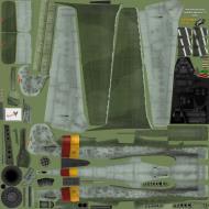 Asisbiz IL2 EM Ta 152H1 JG301 Black 13 Willi Reschke Germany 1945