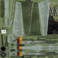 Asisbiz IL2 EM Ta 152H1 JG301 Green 9 Willi Reschke Germany 1945 NM