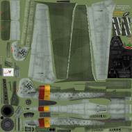 Asisbiz IL2 EM Ta 152H1 JG301 Green 9 Willi Reschke Germany 1945 SNM