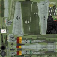 Asisbiz IL2 EM Ta 152H1 JG301 Green 9 Willi Reschke Germany 1945