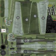 Asisbiz IL2 EM Ta 152H1 JG301 Green 9 captured WNr 150168 England 1945