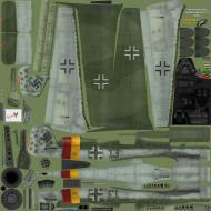 Asisbiz IL2 EM Ta 152H1 Stab JG301 Green 13 Germany 1945