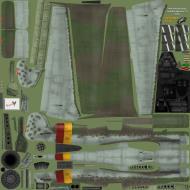 Asisbiz IL2 EM Ta 152H1 Stab JG301 Green 4 Walter Loos Germany 1945 NM