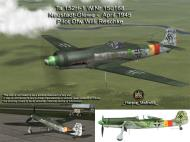 Asisbiz IL2 HM Ta 152H1 JG301 Green 9 Willi Reschke Germany 1945 V0A