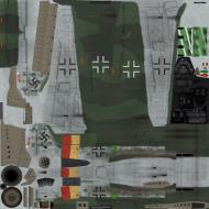 Asisbiz IL2 HM Ta 152H1 JG301 Green 9 Willi Reschke Germany 1945