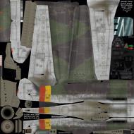 Asisbiz IL2 MV Ta 152H1 JG301 Green 9 Willi Reschke Germany 1945 NM