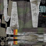 Asisbiz IL2 MV Ta 152H1 JG301 Green 9 Willi Reschke Germany 1945