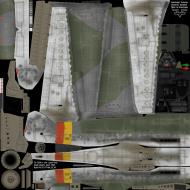 Asisbiz IL2 MV Ta 152H1 Stab JG301 Green 3 Josef Keil Germany 1945 NM