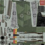Asisbiz IL2 SJ Ta 152H1 7.JG301 Yellow 2 August Wilhelm Hagedorn Germany 1945