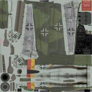 Asisbiz IL2 SJ Ta 152H1 7.JG301 Yellow 3 Germany 1945