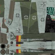Asisbiz IL2 TF Ta 152H1 JG301 Green 9 Willi Reschke Germany 1945
