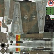 Asisbiz IL2 TT Ta 152H1 Stab JG301 Green 3 Josef Keil Germany 1945