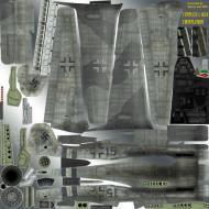 Asisbiz IL2 TT Ta 152H JG300 fictious Blue 15