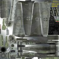 Asisbiz IL2 TT Ta 152H JG300 fictious Green 17