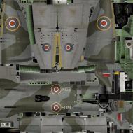 Asisbiz IL2 KF Tempest MkV RAF 122 Wing EDM Evan Mackie SN228 England 1944