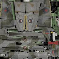 Asisbiz IL2 AV Tempest MkV RAF 3Sqn JF E Pierre Clostermann NV724 England 1944