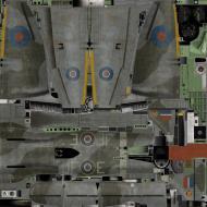 Asisbiz IL2 KF Tempest MkV RAF 3Sqn JF E Pierre Clostermann NV724 England 1944