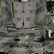 Asisbiz IL2 KF Tempest MkV RAF 3Sqn JF E Pierre Clostermann NV994 England 1944