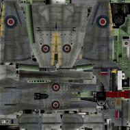 Asisbiz IL2 TT Tempest MkV RAF 3Sqn JF E Pierre Clostermann NV994 England 1945