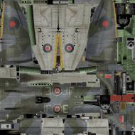 Asisbiz IL2 VP Tempest MkV RAF 3Sqn JF E Pierre Clostermann NV724 England 1944