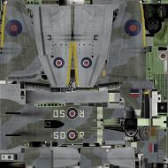 Asisbiz IL2 TT Tempest MkV RAF 501Sqn SD R EJ588 Hawkinge England 1944