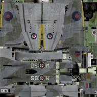 Asisbiz IL2 TT Tempest MkV RAF 501Sqn SD W EJ599 Hawkinge England 1944