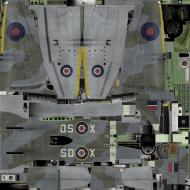 Asisbiz IL2 TT Tempest MkV RAF 501Sqn SD X EJ763 Hawkinge England 1944