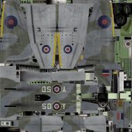 Asisbiz IL2 TT Tempest MkV RAF 501Sqn SD Y EJ555 Hawkinge England 1944