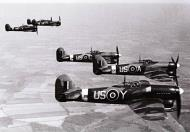 Asisbiz Early Mk Tempests RAF 56th Squadron US Y US A US C US X and US H England 1944 01