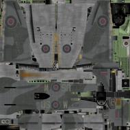 Asisbiz IL2 TT Tempest MKV RAF 56Sqn US W EJ536 Pierre Clostermann England 1944 weathered B