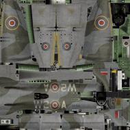 Asisbiz IL2 KF Tempest MkV RAF 80Sqn W2 A Evan Mackie NV700 England 1944