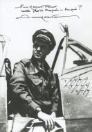 Asisbiz Famous French ace Pierre Clostermann signed photograph 01
