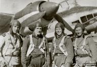 Asisbiz Tuploev Tu 2 12DBAP Ivan Akimovich Kapustin with his comrades Kalinin Front 1943 01