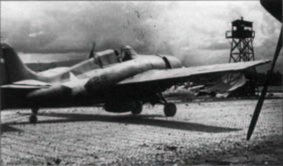 Grumman F4F 3 Wildcat Black 29 about to take off Henderson Field Guadalcanal 1942 01