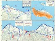 Asisbiz A Map WWII showing Guadalcanal Campaign Aug to Oct 1942