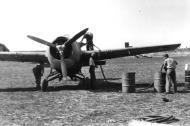 Asisbiz Grumman F4F 3 Wildcats Black 12 being refueled at Henderson Field Guadalcanal 1943 01