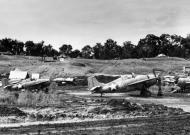 Asisbiz Grumman F4F 3 Wildcats VGF 27 White 81 in dug outs Henderson Field Guadalcanal 1942 01