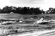 Asisbiz Grumman F4F 3 Wildcats VGF 27 White 81 in dug outs Henderson Field Guadalcanal 1942 02