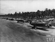 Asisbiz Grumman F4F 3 Wildcats White 28 lined up at Henderson Field Guadalcanal Jan 1943 01