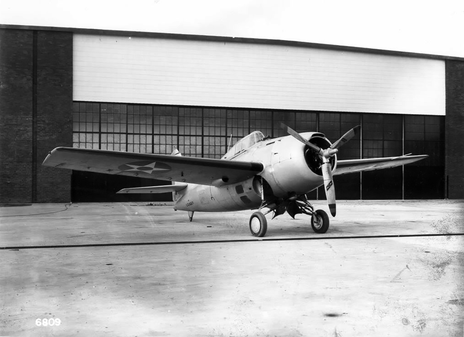 Grumman XF4F 3 Wildcat at Grumman Aircraft Engineering Corporation Bethpage New York 01