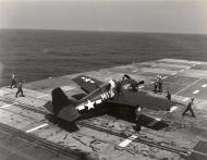 Asisbiz FM 2 Wildcat White M10 Ens John E Hood training carrier USS Sable IX 81 Lake Michigan 1945 01