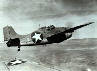 Asisbiz Grumman F4F 3 Wildcat White 5 in flight 01