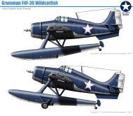 Asisbiz Grumman F4F 3S Wildcatfish on Floats profile photo series 0A
