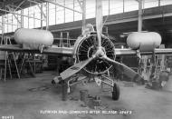 Asisbiz Grumman XF4F 3 Wildcat VF 6 White 6F2 during the factory stage to produce a floatation device 02