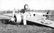 Asisbiz Grumman XF4F landing mishap during testing 1938 01