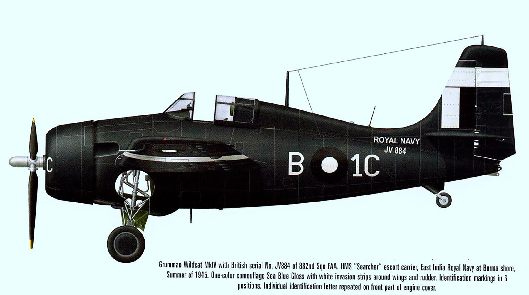 FM 2 Martlet MkIV RN 882Sqn B1C