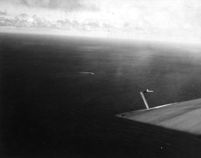 German Kriegsmarine submarine U 378 sunk by VC13 USS Core October 20 1943 03