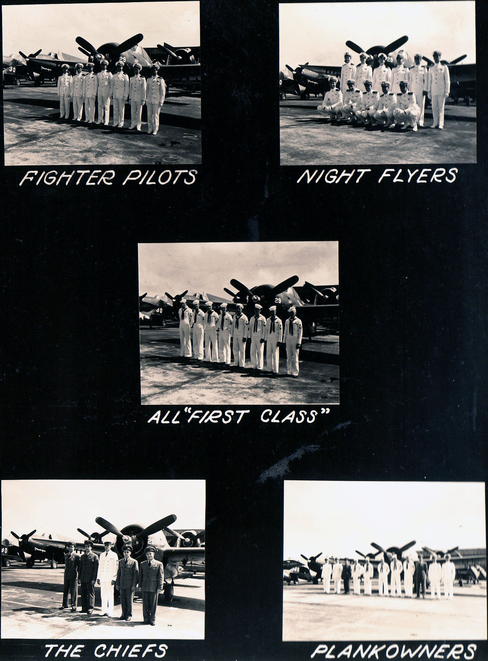 Aircrew USN VC 6 pilots and personnel 17