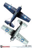 Asisbiz Grumman F4F 3 Wildcat VF 6 Black F14 aboard aboard CV 6 USS Enterprise 1942 0B